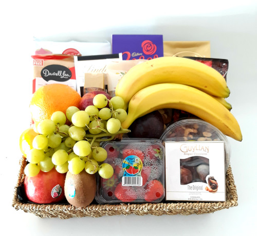 Deluxe Fruit & Nibbles Basket