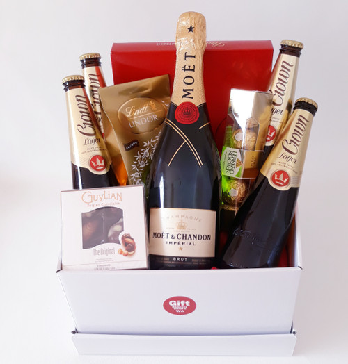 Champagne & Beer Basket