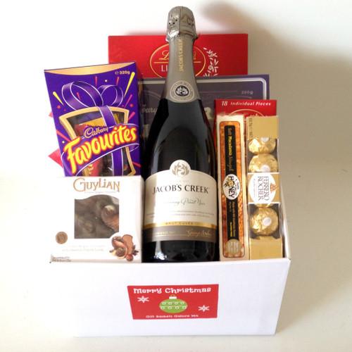 Christmas Sparkling Chocolate Box