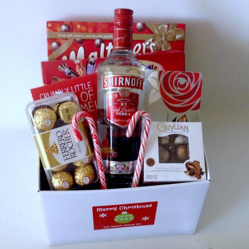 Christmas Vodka & Chocolate Box