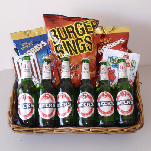 Beer Snacks Basket