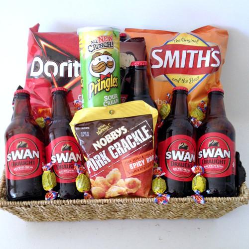 Swan Draught Beer Basket