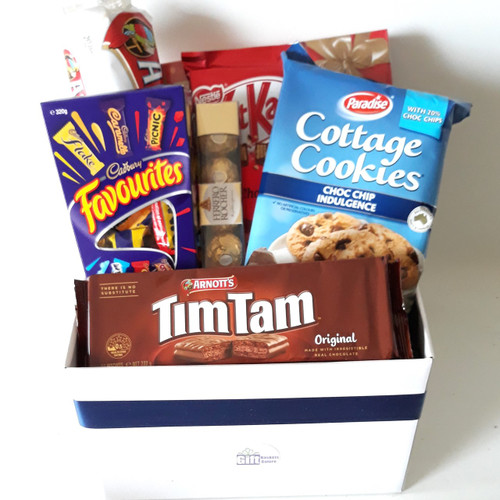 Hospital Hamper Choc & Bikkies