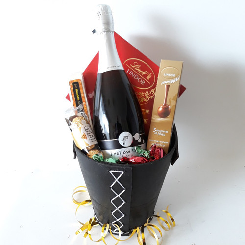 Lindt Chocolate and Yellowtail Sparkling Bucket