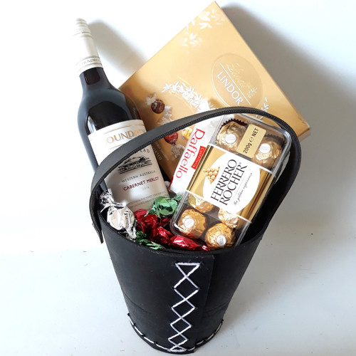 Lindt Ferrero & Red Wine Bucket