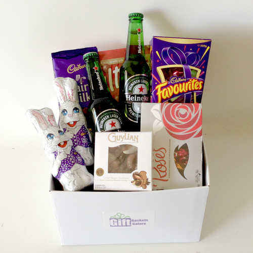 Beer & Bunny Basket - Choose Beer