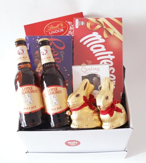Beer & Lindt Bunny Easter - Choose Beer
