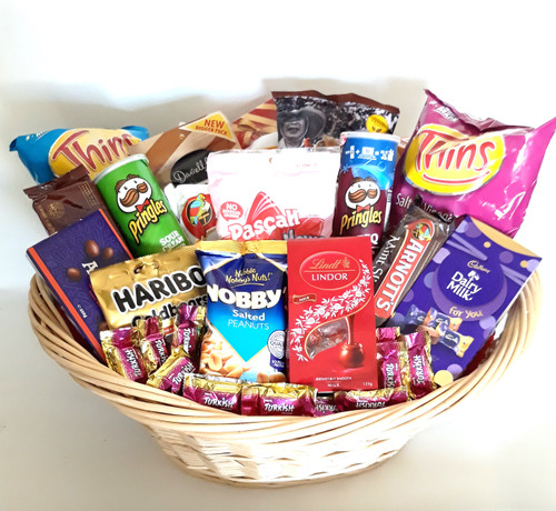 Get the party started hamper filled with everyone's favourite treats