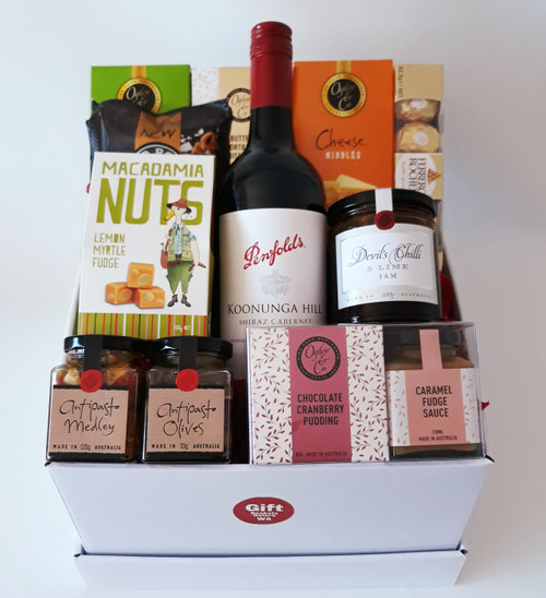 Classy Red Gift Box