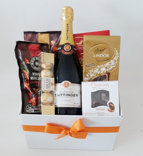 Taittinger Champagne, Nuts & Chocolate