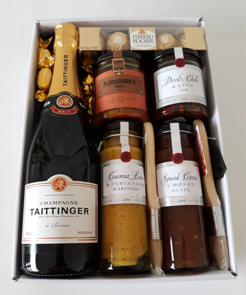 Champagne Gourmet Gift Box