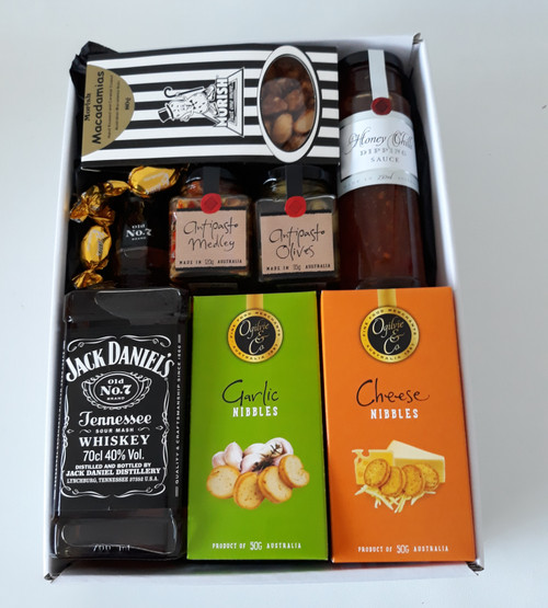 Jack Daniels Just Add Cheese Gourmet Hamper