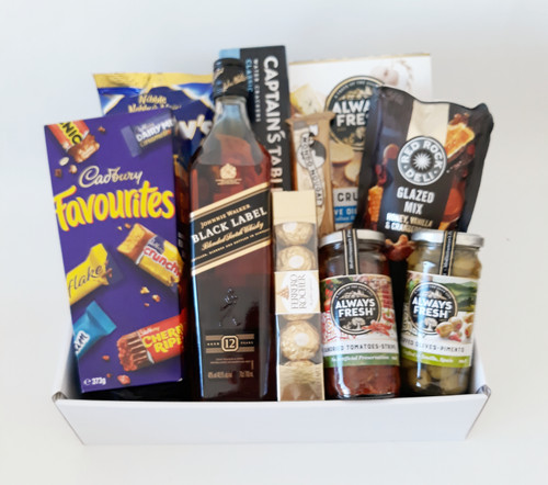 Black Label Chocolate Nuts & Nibbles Hamper