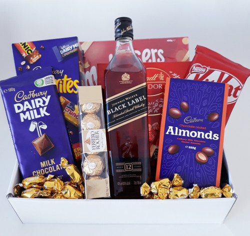 Black Label & Choc Hamper