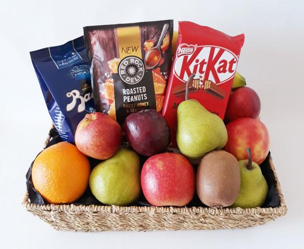 Chocolate, Fruit & Nuts Basket