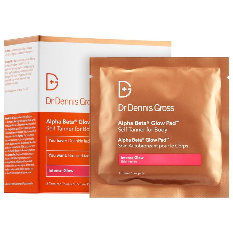 Dr. Dennis Gross Alpha Beta Glow Pad Self-Tanner for Body