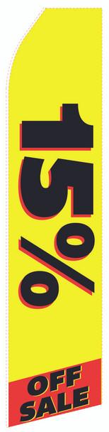 15% off Sale Econo Stock Flag