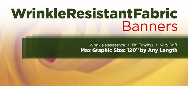 Wrinkle Resistant Fabric