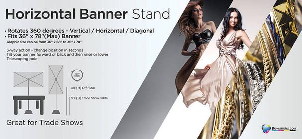 Horizontal Banner Stand