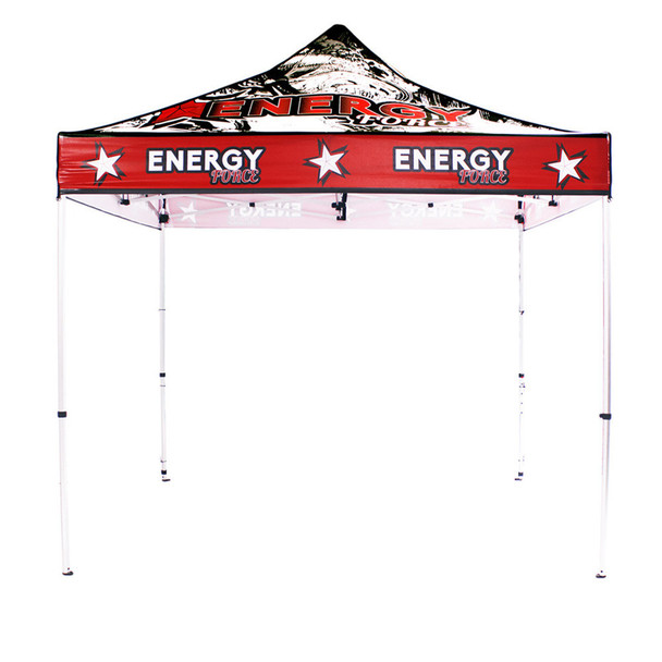 10FT Outdoor UV Canopy Tent - Aluminum + Full Color UV Print Graphic Package