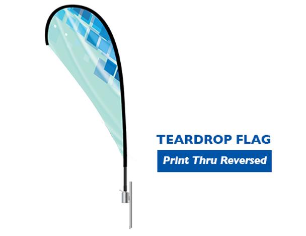 Teardrop Flag Large