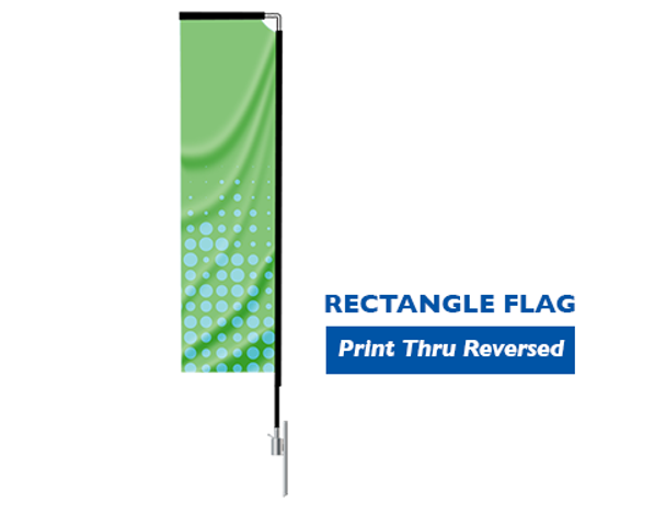 Rectangle Flag  Small