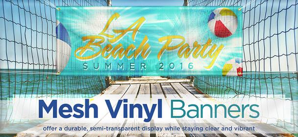 Mesh Vinyl Banners