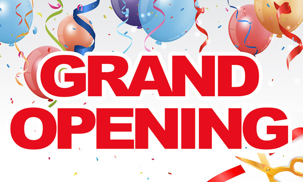 Pre-Printed Banner -  Grand Opening 4