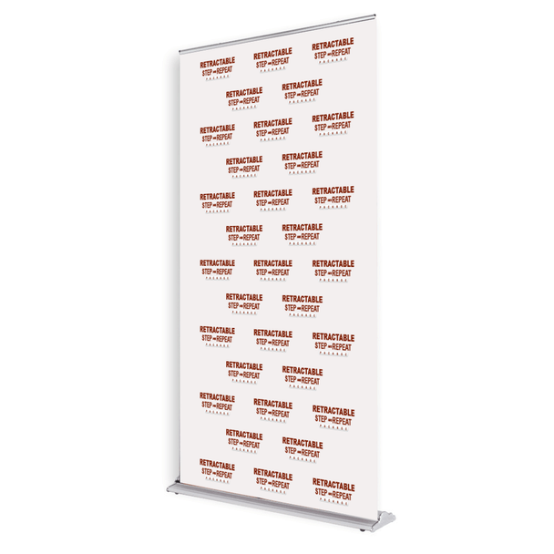 Step and Repeat Retractable Banner SS48 Package
