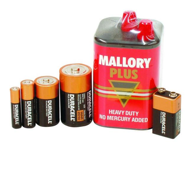 D Size Duracell Battery