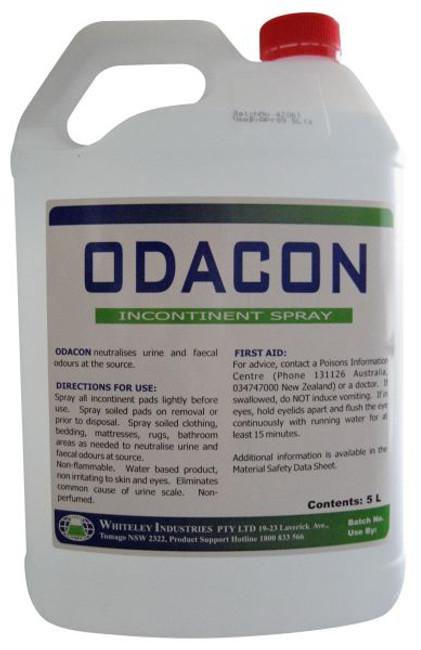 ODACON 5LT ODOUR  NEUTRALISER WHITELEY