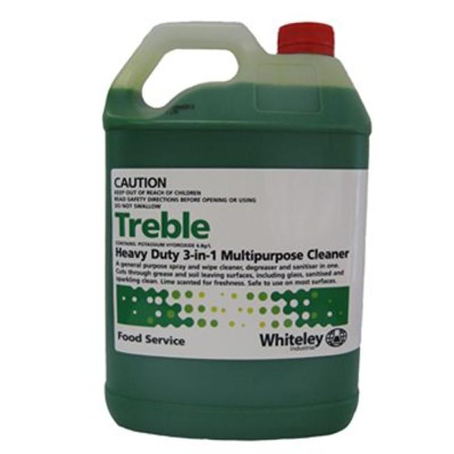 TREBLE 5LT 3 IN 1 MULTI CLEANER WHITELEY