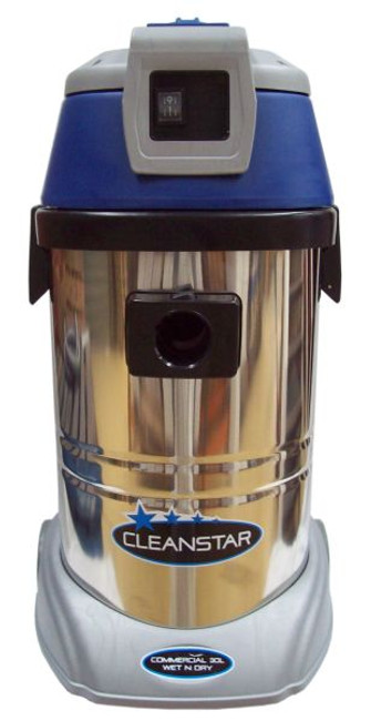 Cleanstar 30 Litre Wet and Dry Vacuum Cleaner