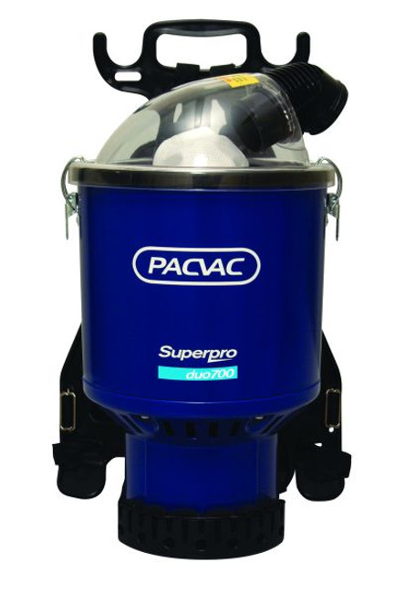 Pacvac Superpro 700 Duo Bypass Back Pack Vacuum Cleaner