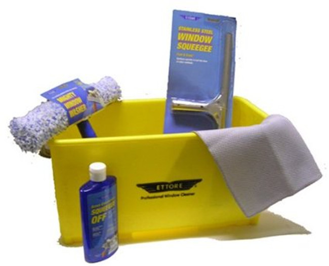 ETTORE SUPER SYSTEM WINDOW CLEANING KIT