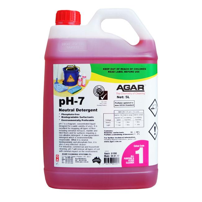 5LT PH7 DETERGENT AGAR