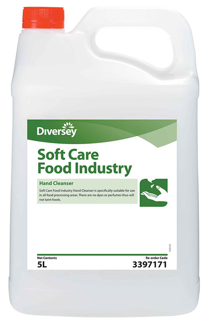 SOFTCARE FOOD INDUSTRY HAND CLEANSER 5LT