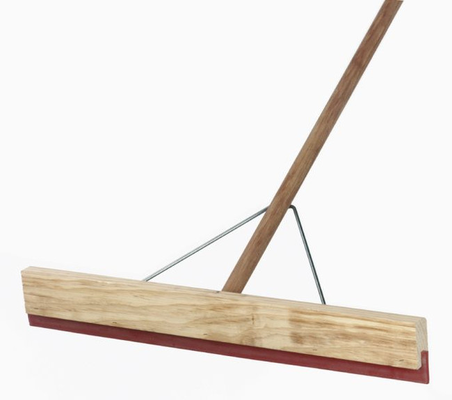 SQUEEGEE COMPLETE 600MM WOODEN W/HANDLE