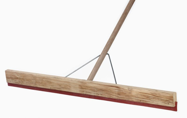 SQUEEGEE WOODEN 914MM COMP W/HDL & BRACK