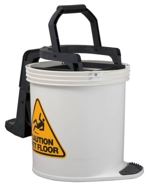 White DuraClean Mark II Wringer Bucket