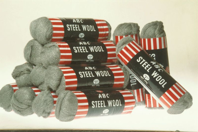 STEEL WOOL NO.0 (FINE) 500GM HANKS