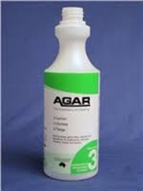 SANITISER 500ML SPRAY BOTTLE ONLY AGAR