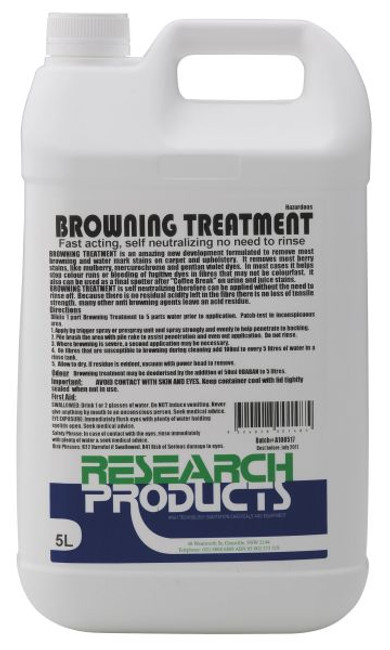 5LT BROWNING TREATMENT R/PROD