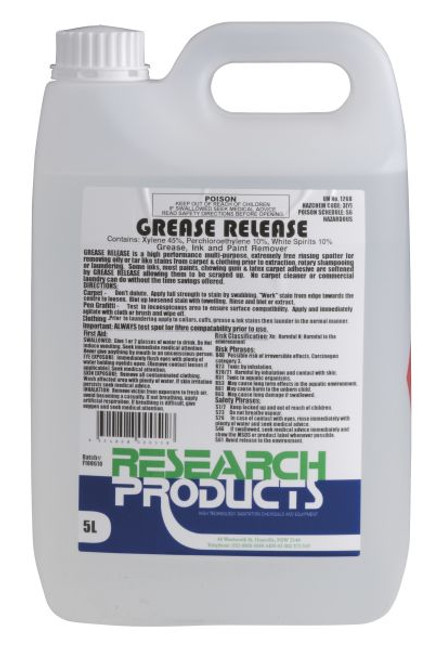 5LT GREASE RELEASE R/PRODUCTS