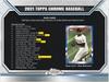 2021 Topps Chrome Baseball - Hobby Box