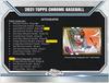 2021 Topps Chrome Baseball - Jumbo Box