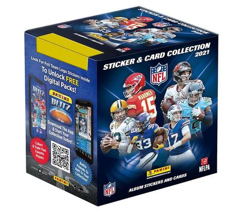 2021 Panini NFL Sticker Pack