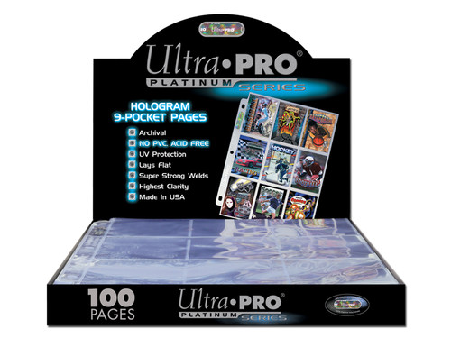 Ultra Pro - 9 Pocket Pages - 100pack