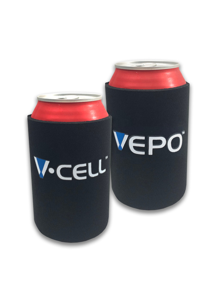 Fits 12 oz Beverage Cans. Sold in sets of (6).