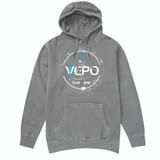 100% Cotton VEPO™ hooded Sweatshirt.